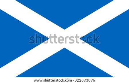 scotland nation flag