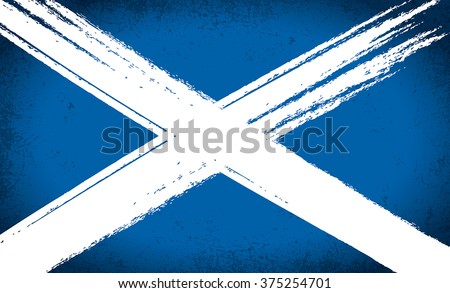 scottish saltire flag grunge