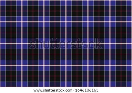 Scottish Tartan. Seamless rectangle pattern for fabric, kilts, skirts, plaids