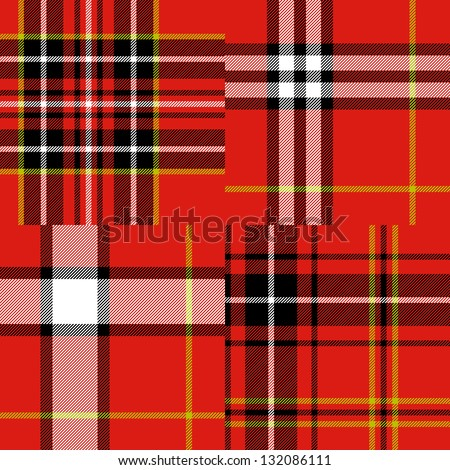 scottish traditional tartan