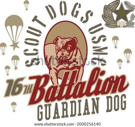 scout dogs usmc 16th battalion