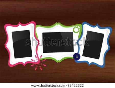 scrapbook photo frames set