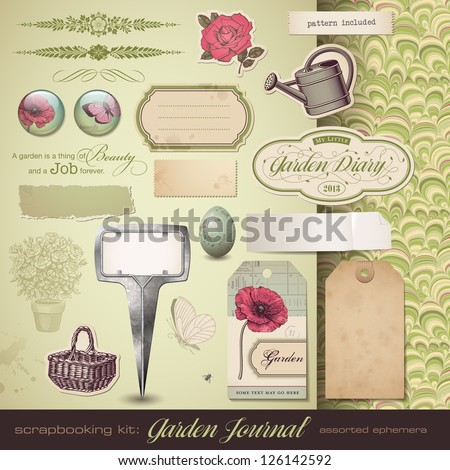scrapbooking kit  gardening  ...