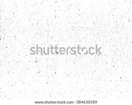 Scratched paper or distressed cardboard texture. Black and white colored grunge vector background