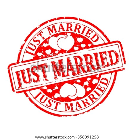 Just married Logo Vector (EPS) Download | seeklogo