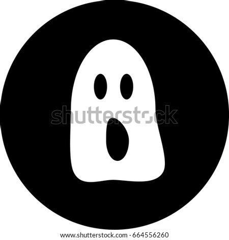screaming ghost vector for