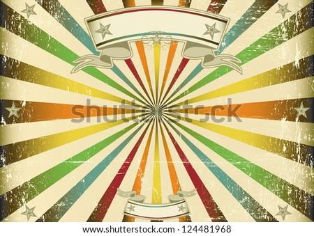 screen multicolor vintage. a...