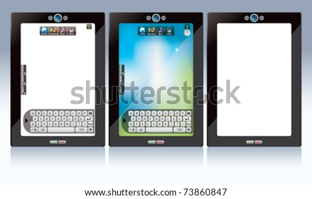 screen touch- white screen touch pad