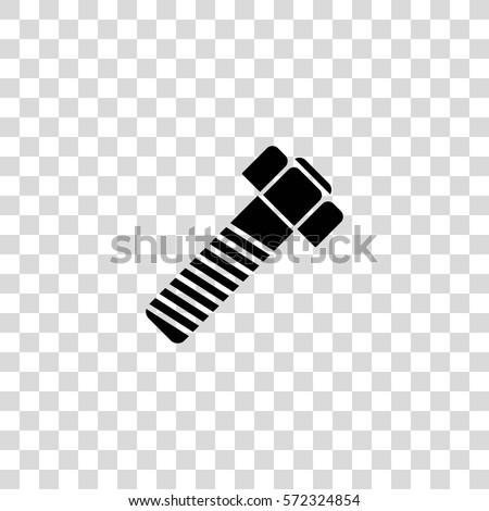screw-bolt vector icon