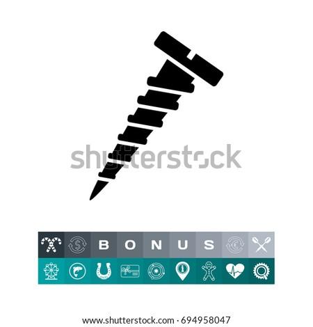 Screw simple icon