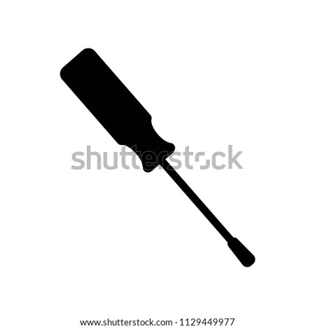Screwdriver icon vector icon. Simple element illustration. Screwdriver symbol design. Can be used for web and mobile.
