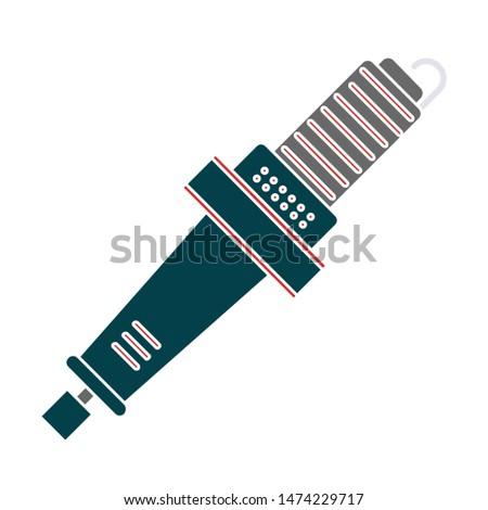 screwdriver power tool icon. flat illustration of screwdriver power tool vector icon. screwdriver power tool sign symbol