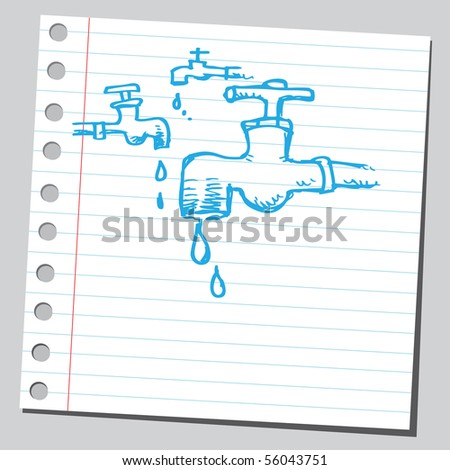 Scribble faucets