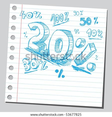 Scribble percents