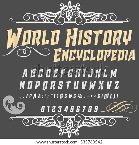 script font typeface world...