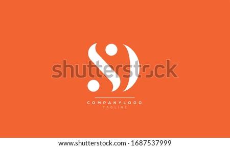 SD S D Letter Logo Alphabet Design Template Vector Zdjęcia stock ©