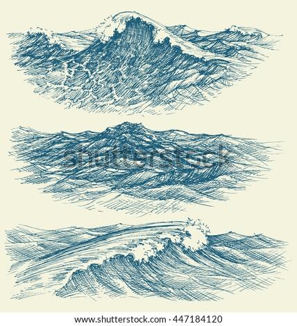 sea and ocean waves