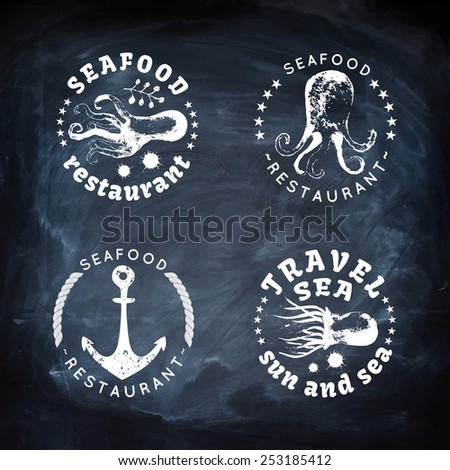 sea animals vector illustration....