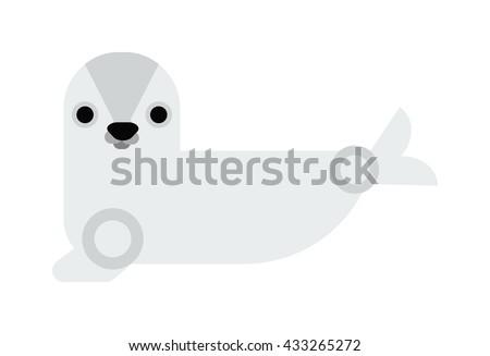 sea cow manatee cartoon