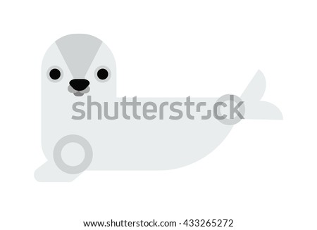 sea cow manatee cartoon
