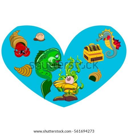 sea heart original