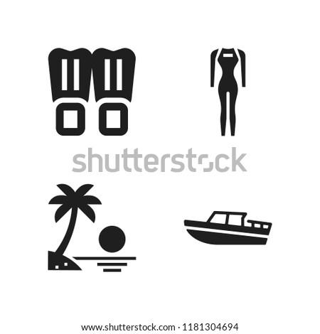 sea icon 4 sea vector icons