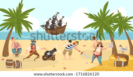 sea pirates fight and drink rum