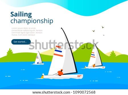 sea sailing championship yacht