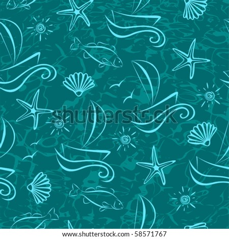 sea seamless background