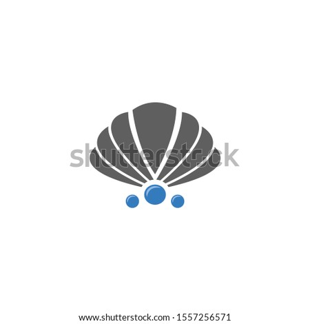 sea shell vector icon. sea shell sign on white background. sea shell icon for web and app.