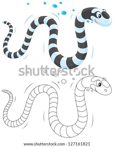stock-vector-sea-snake