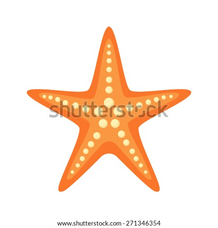 sea star isolated icon