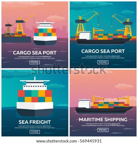 sea transportation logistic