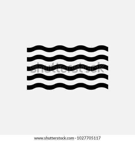 sea vector icon