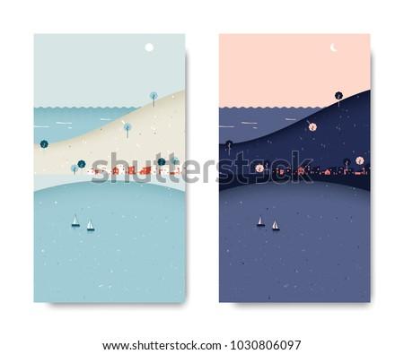 sea view scenery landscape