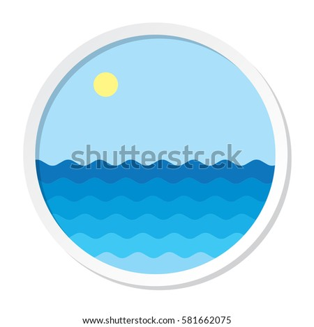 sea waves portal