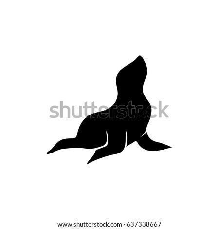 Seal animal icon
