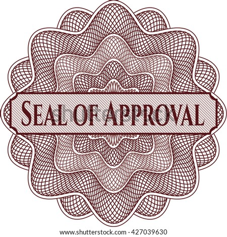 Seal of Approval rosette
