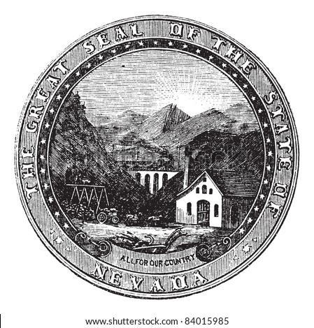 seal of the state of nevada ...
