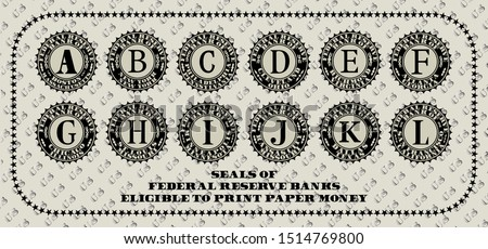 seals of the federal reserve