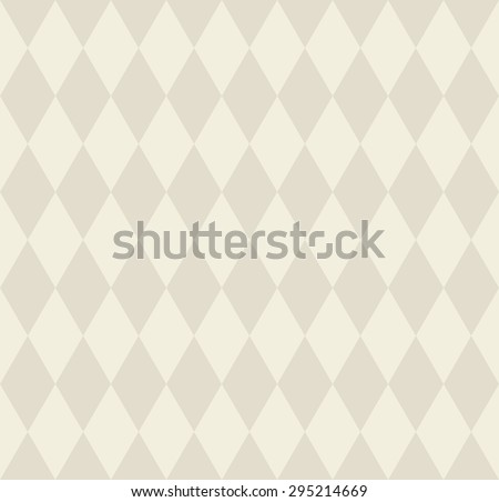 Seamless abstract background with rhombuses. Infinity geometric pattern. Vector illustration.