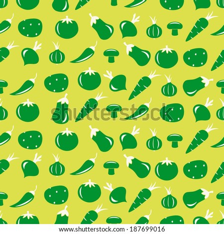 seamless abstract background with vegetables
