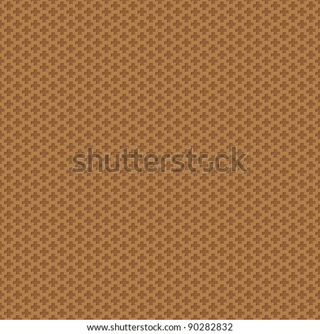 stock-vector-seamless-abstract-brown-texture-crosses-background