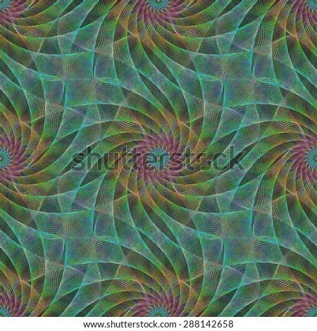 seamless abstract fractal