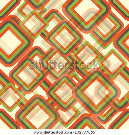 Seamless abstract geometric background eps10