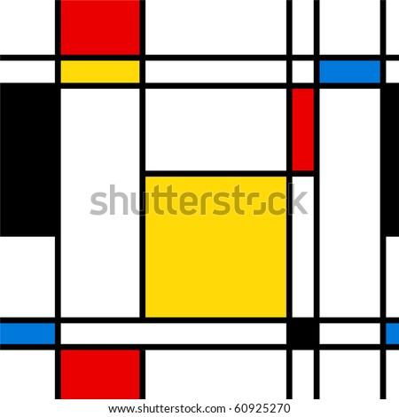 Seamless abstract geometric colorful vector pattern for continuous replicate.