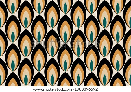 Seamless abstract geometric pattern. EPS10 Illustration.