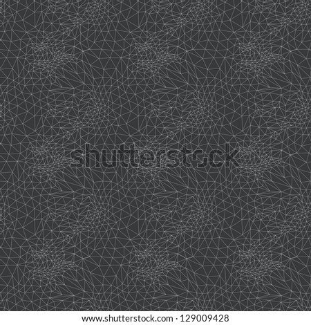 Seamless abstract geometric pattern. Vector net background.