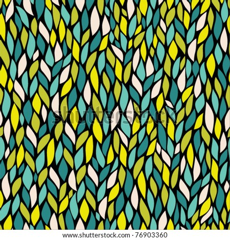 seamless abstract hand-drawn pattern, endless modern background
