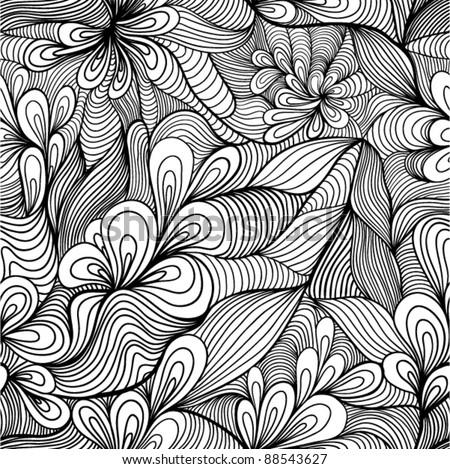 Seamless Abstract Hand...
